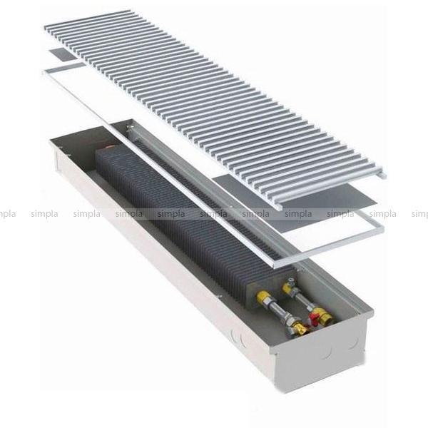 Warmes Haus KWH 200-105-2500.00.000 встраиваемый конвектор с естественной регуляцией