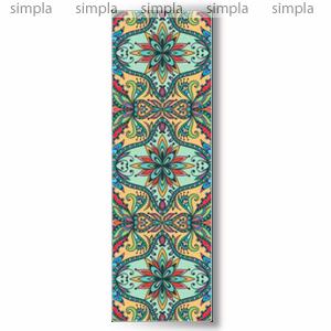 Дизайн-конвектор Varmann GlassKon 115.550.2020, вертикальный, настенный монтаж, подключение сбоку