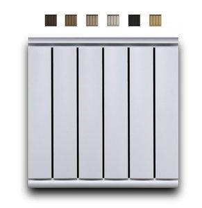 Алюминиевый радиатор Мандарин 500 мм 3 секции