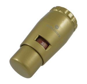 Термостатическая головка MINI M30x1,5 Золото мат