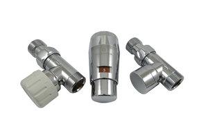 Комплект проходной GZ1/2 x M22x1,5 Хром с головкой Мини M30x1,5