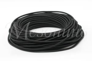 Провод монтажный круглый ПВХ 3х2,5, цвет - черный (бухта 25 м)