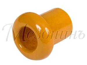 Втулка межстеновая фарфор, цвет - песочное золото