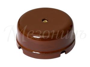 Коробка распределительная, цвет - коричневый