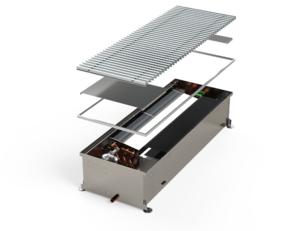 Высокопроизводительный внутрипольный конвектор с возможностью охлаждения MINIB HCX 3000 мм