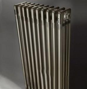 Трубчатый радиатор Purmo Delta Laserline VT (3 трубки, 10 секций) нижнее VL без вентиля ЛАК