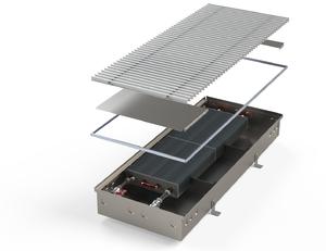 Внутрипольный конвектор без вентилятора MINIB PMW125 3000 мм