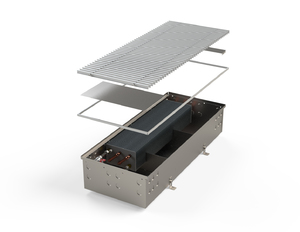 Внутрипольный конвектор без вентилятора MINIB PMW205 3000 мм