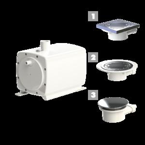 Насос санитарный SFA Sanifloor