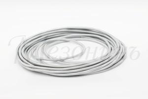 Провод монтажный круглый ПВХ 3х1,5, цвет - титан (бухта 25 м)