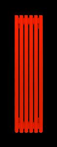 Радиатор стальной трубчатый WH Round  1000 В -6 сек